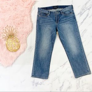 Lucky Brand Sweet Crop Jeans Size 10